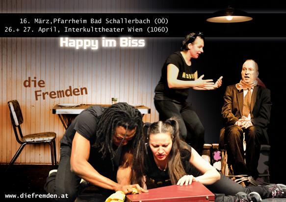 Happy im Biss © Die Fremden